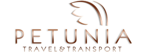 logo petunia travel