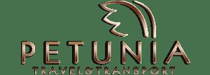 logo petunia travel