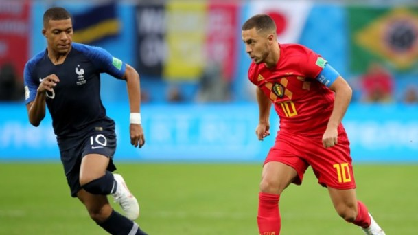 CDM 2018: Les images du match France Belgique