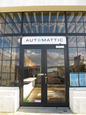Automattic Lounge Door