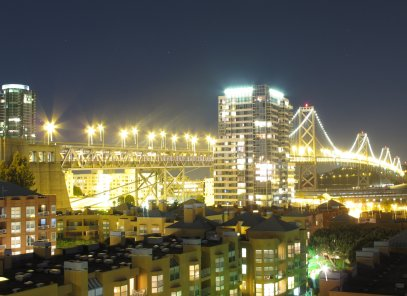 Bay Bridge Long Exposure
