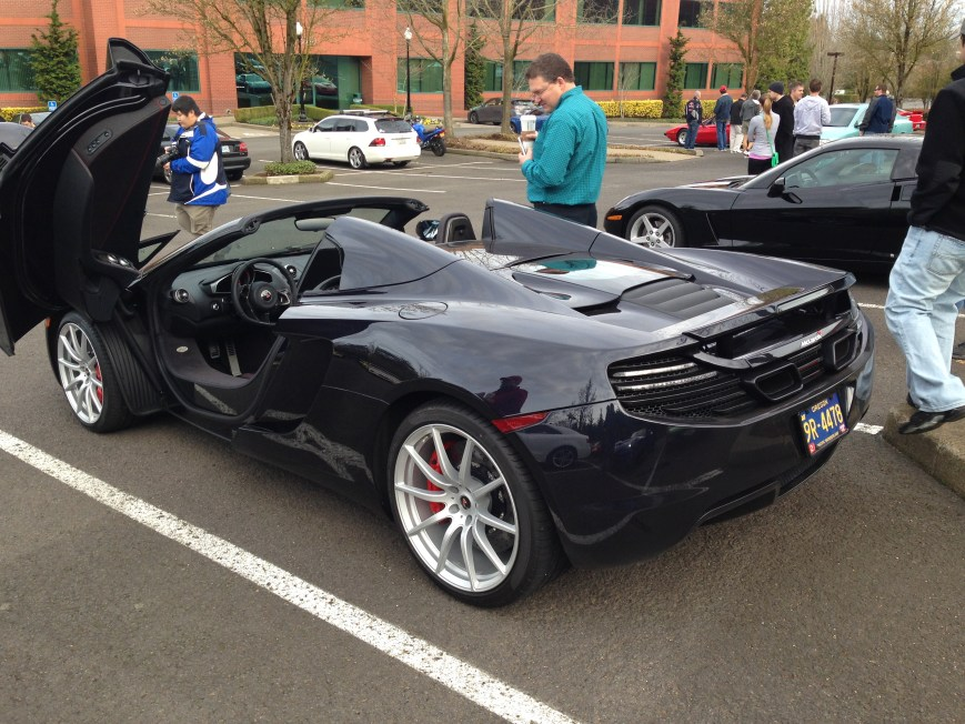 McLaren MP4-12C Spider - Rear