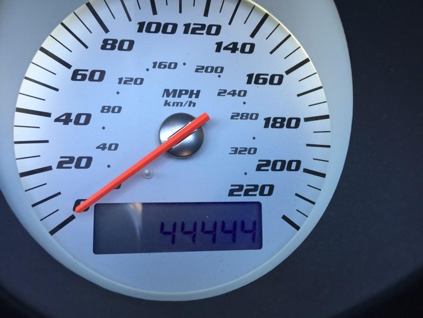 44,444 Miles