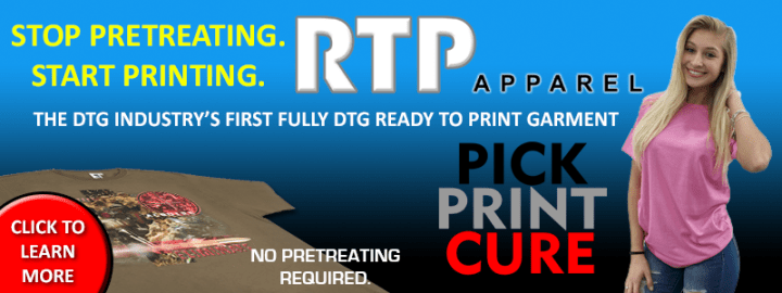 Stop Pretreating - DTG Industrys first Ready To Print Shirt