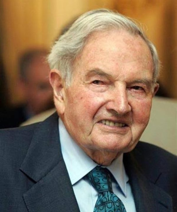 David Rockefeller Salary