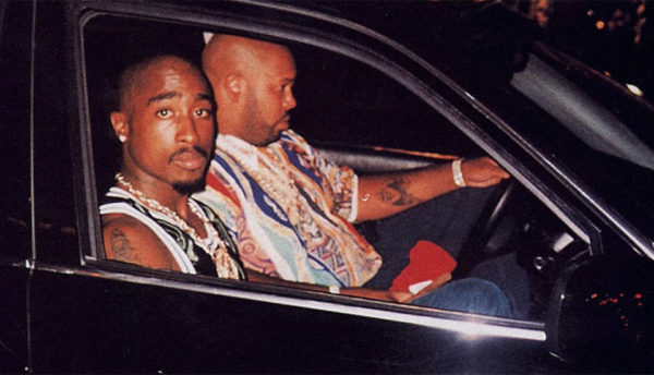 Suge Knight and Tupac Last Moment