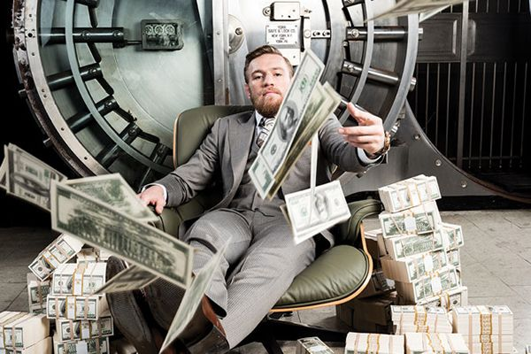 Conor McGregor Salary