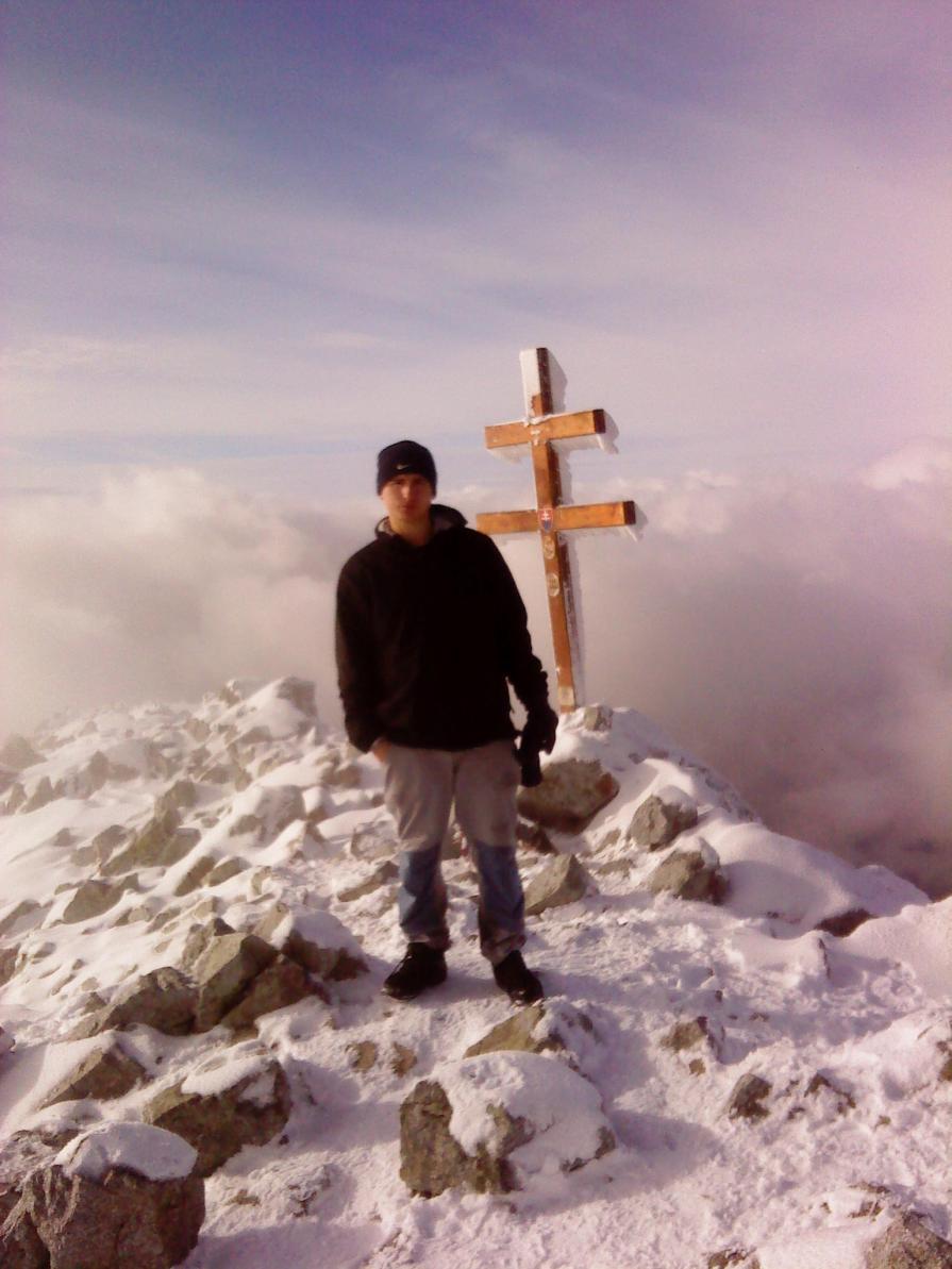 Já na vrcholu Křiváně. Autor: Martin Kirschner