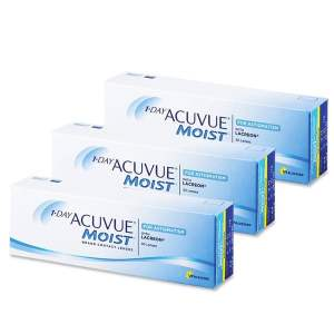 1 Day Acuvue MOIST Toric for Astigmatism 90L