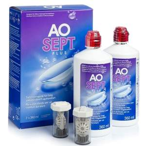 Aosept Plus 2x360 ml