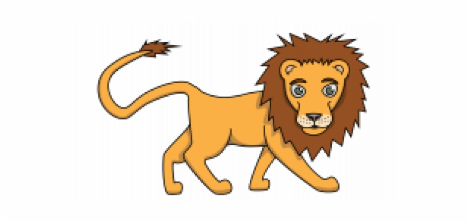 Lion Animal Drawing Easy Transparent Png Download 1921247 Vippng