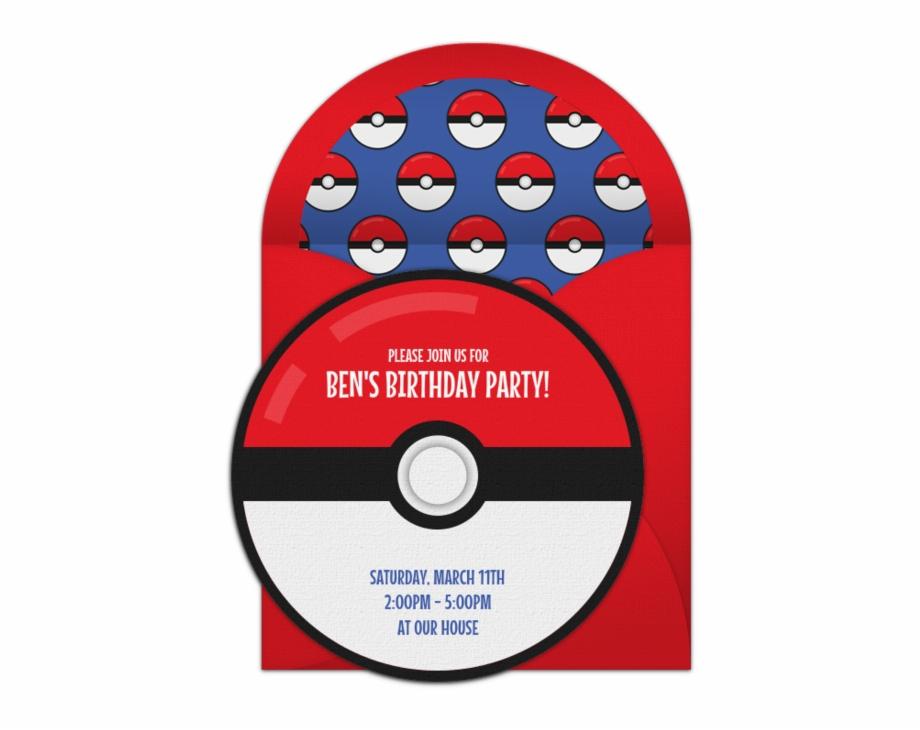 happy 10th birthday invitation pokemon