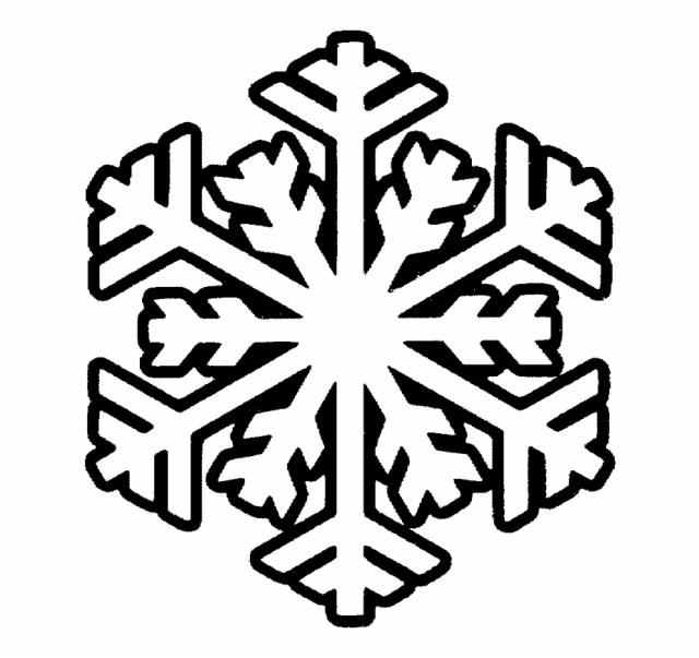Free Printable Snowflake Png Royalty Template Techflourish