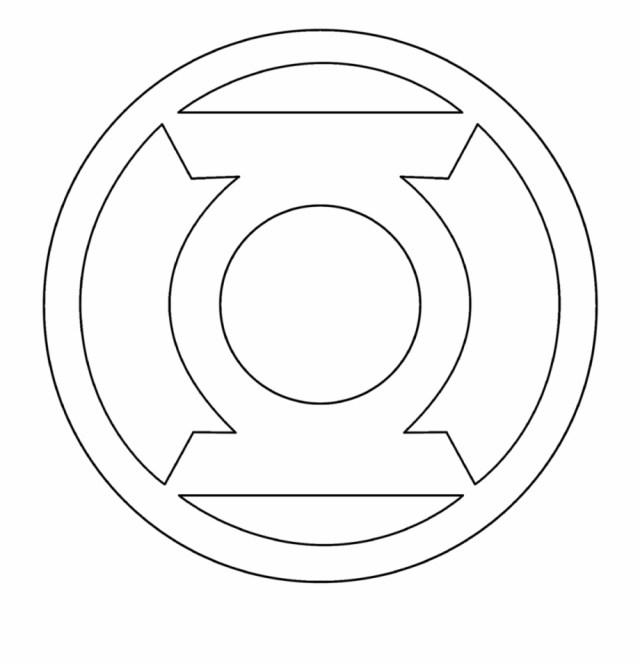 Batman Logo Drawing - Super Hero Logos Coloring Pages