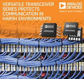 Emetteurs-récepteurs RS-485 polyvalents à 50 Mbits/s | Analog Devices