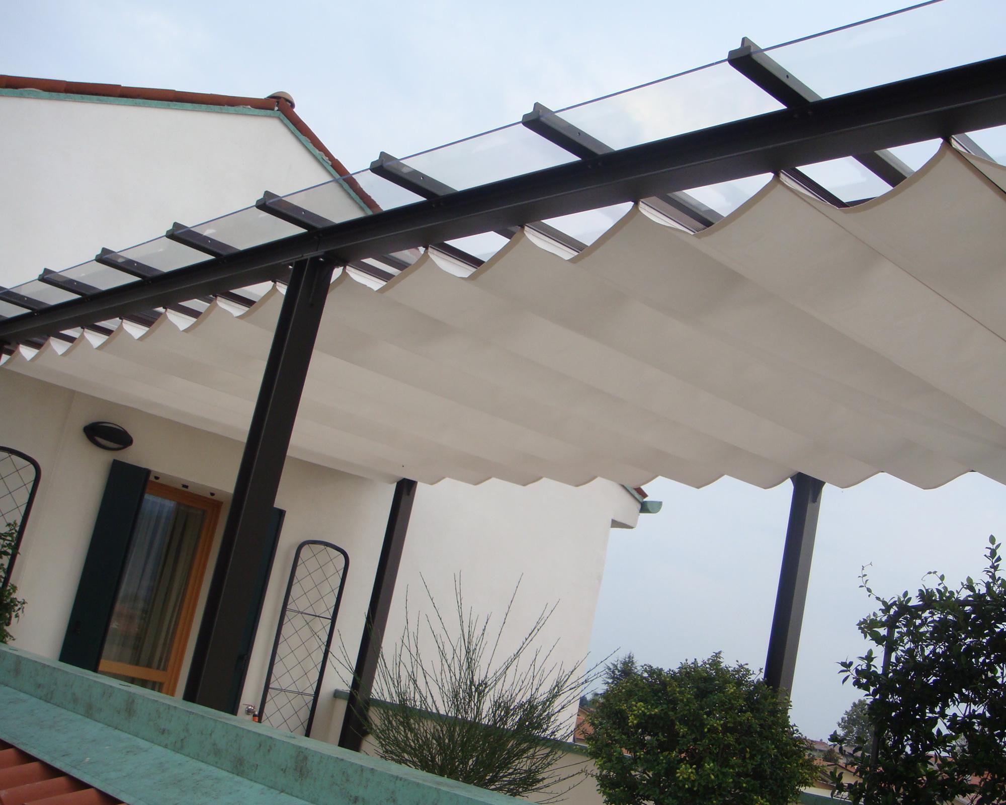 Tenda da sole a caduta cm. Nuvola Tenda Per La Protezione Solare