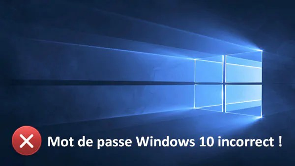 piratage de mots de passe Windows 10
