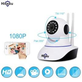 Hiseeu 1080 P ip-камера бездротова домашня охоронна ip-камера відеоспостереження Wifi нічне бачення камера відеоспостереження Дитячий Монітор 1920 * 1080