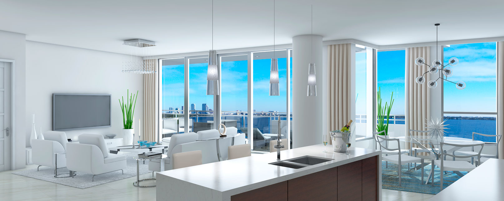 Luxury Penthouses In Tampa For Sale The Virage Condos On
