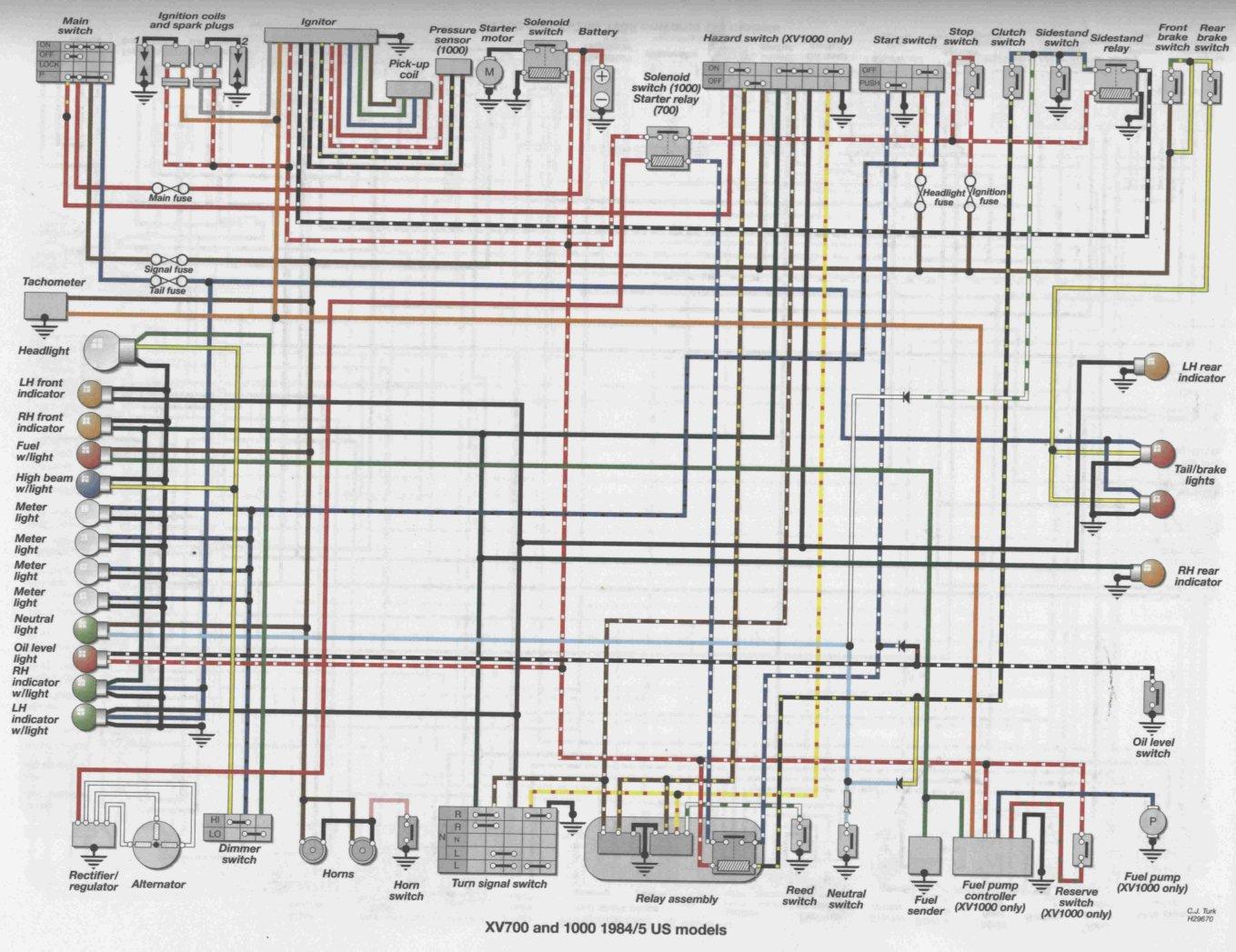 2000 yamaha yzf600r headlight wiring diagram yzf 600