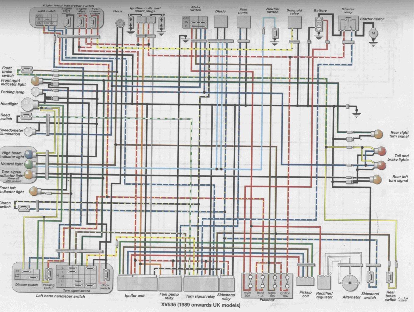 750 Wiring Diagrams In Addition 1985 Yamaha Wiring Diagram On Yamaha