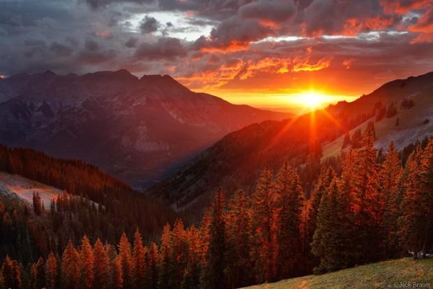 世上28個最能令你動容的日落