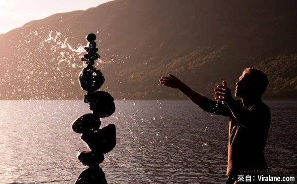 這男人已掌握了物理學的極限!28幅「完美石頭平衡藝術」作品