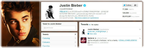 Justin Bieber Hits 25 Million Twitter Followers
