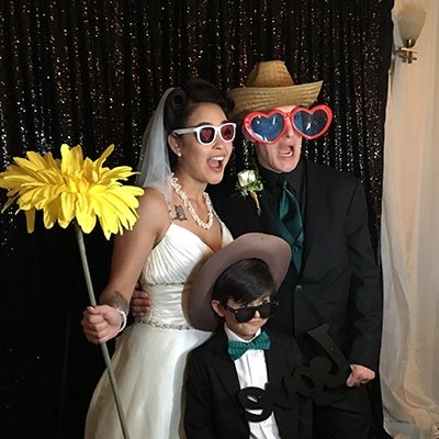 Wedding Open Photo Booth