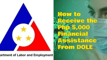 How to Receive the Php 5,000 Financial Assistance From DOLE