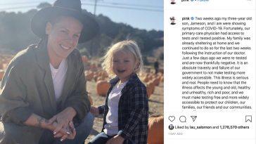 Singer Pink says she had COVID-19 coronavirus