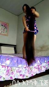 VILDT! Har hun verdens længste hår?