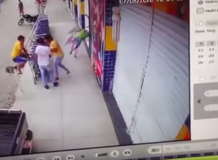 pige giver hoved video