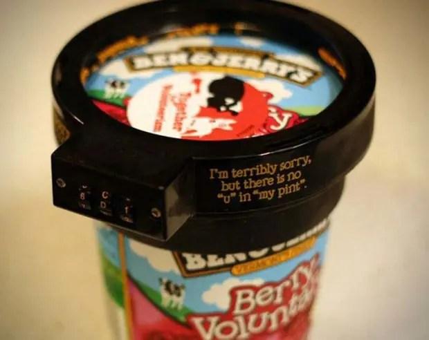 cerradura helado