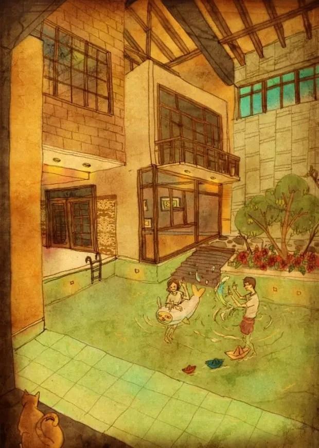 amor-detalles-Puuung-ilustraciones-piscina