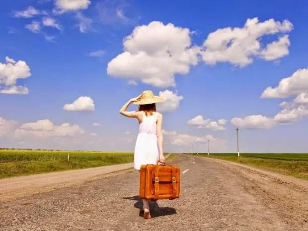 Mujer-camino