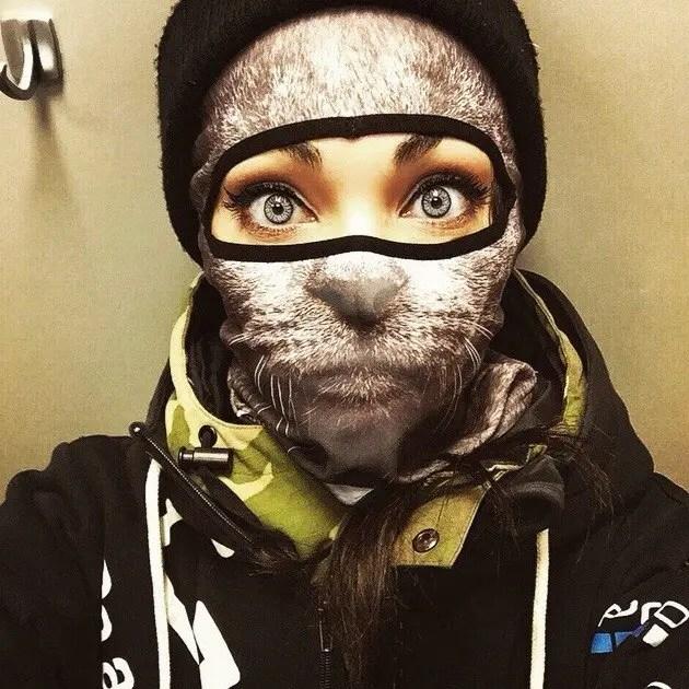 mascaras ski animales 1