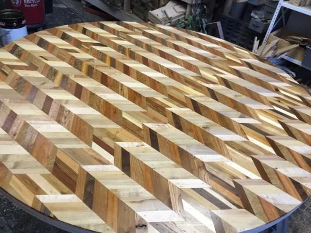 mesas madera reciclada 14