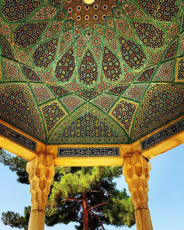 hermosa mezquita en iran 9
