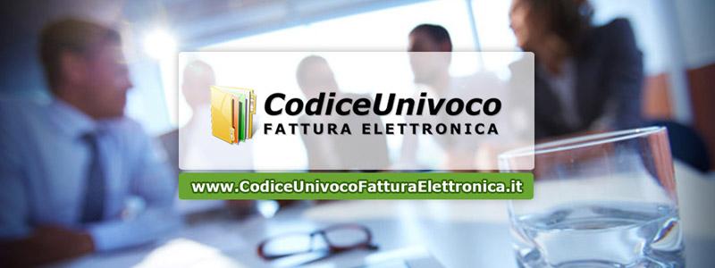 Codice univoco fattura elettronica il nuovo sito per for Codice univoco per fatturazione elettronica