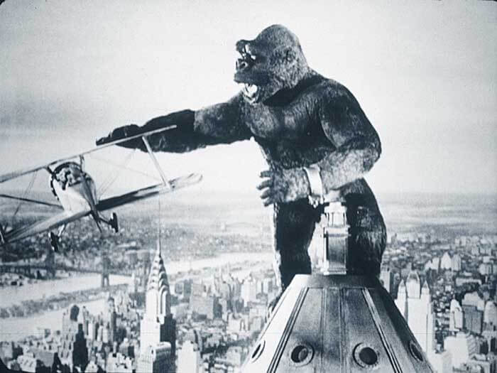 Empire State Building featured in King Kong