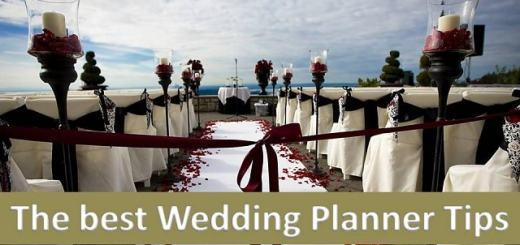 the best wedding planner tips
