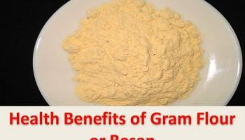 health benefits of besan