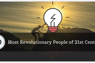 Most Revolutionary People of 21st Century