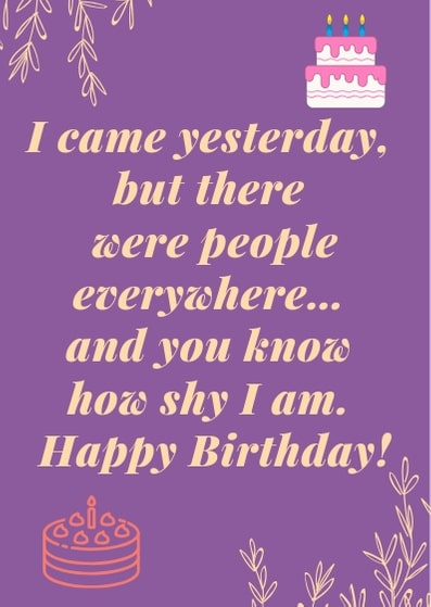 happy belated birthday wishes for friend