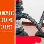 how to remove blood stains from carpet