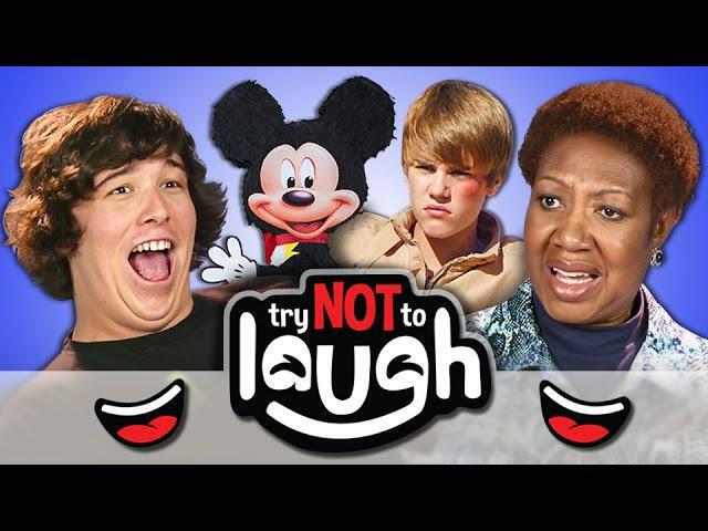 Try Laugh Without Smiling