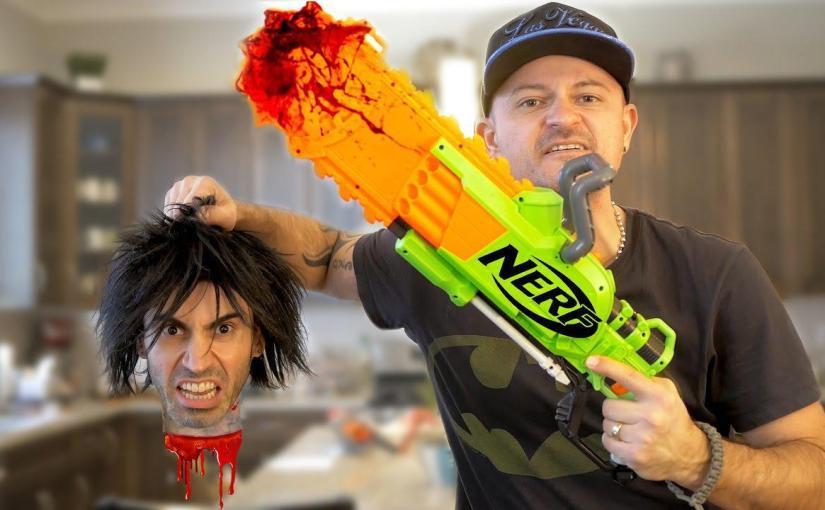 NERF WAR: Chainsaw Massacre! – ViralVideos.gr – ελληνικά Viral Videos,  ελληνικά YouTube Virals