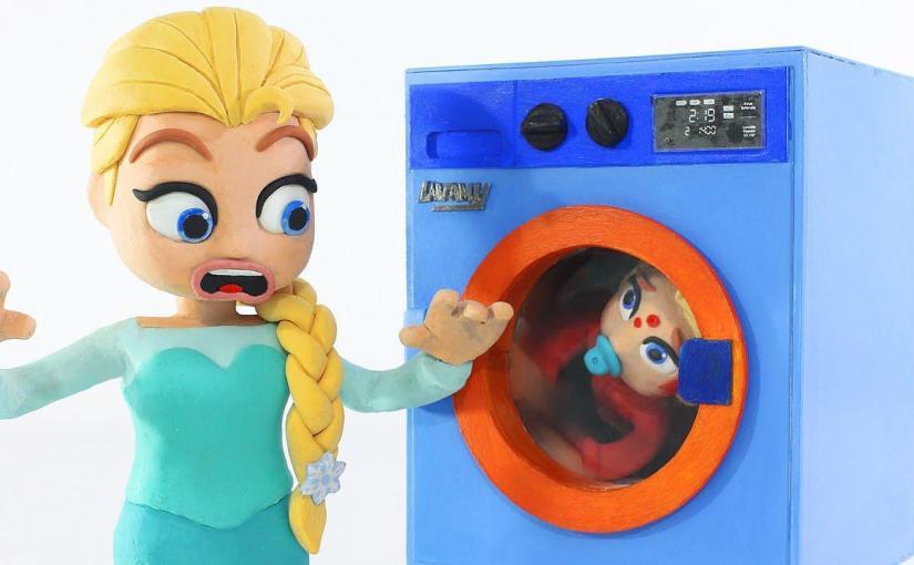 washing machine frozen