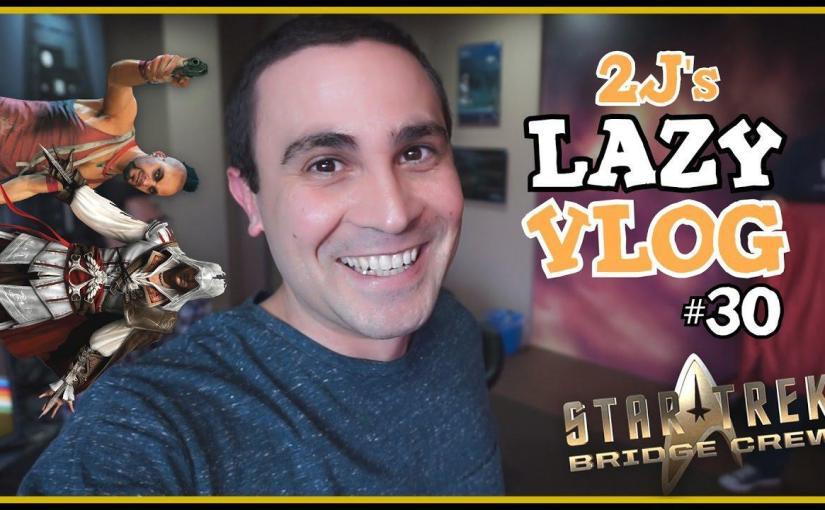 Αγγλία Για STAR TREK VR! (Lazy Vlog #30)